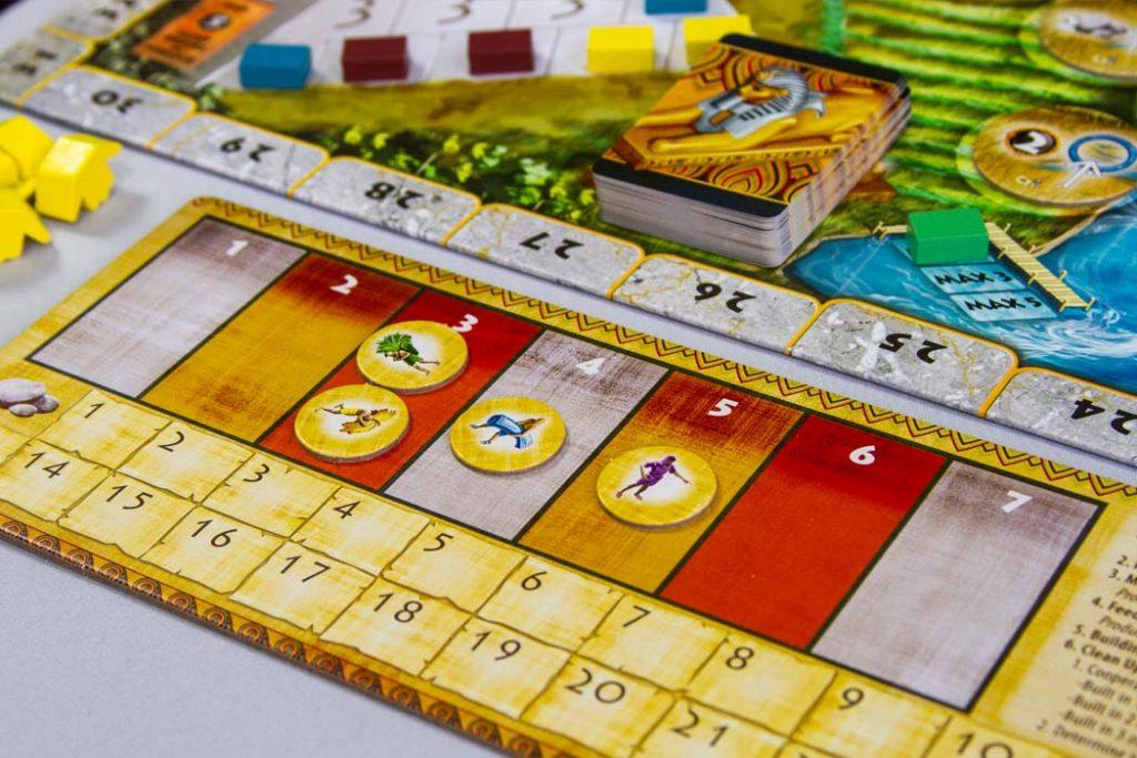 Egizia Shifting Sands Player Board Tableau