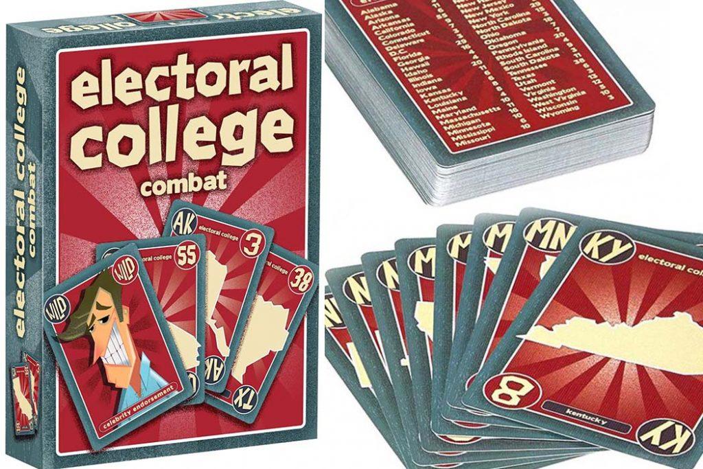 Electoral College Combat Board Game