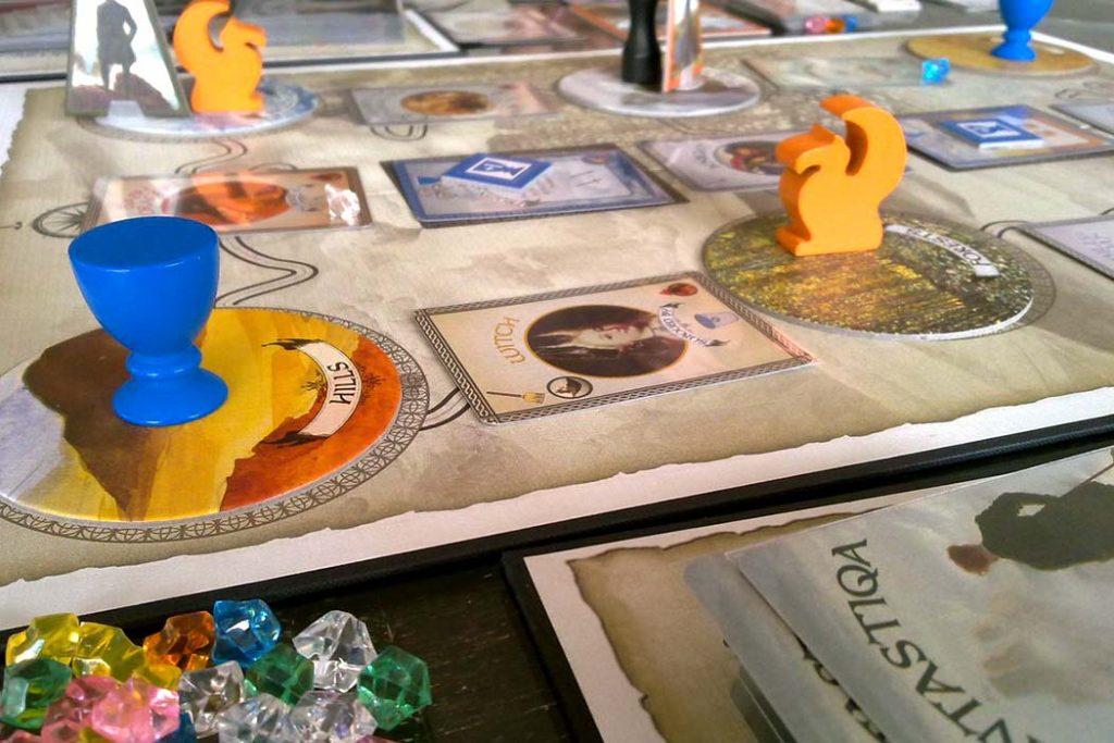 Fantastiqa The Rucksack Edition Board Game