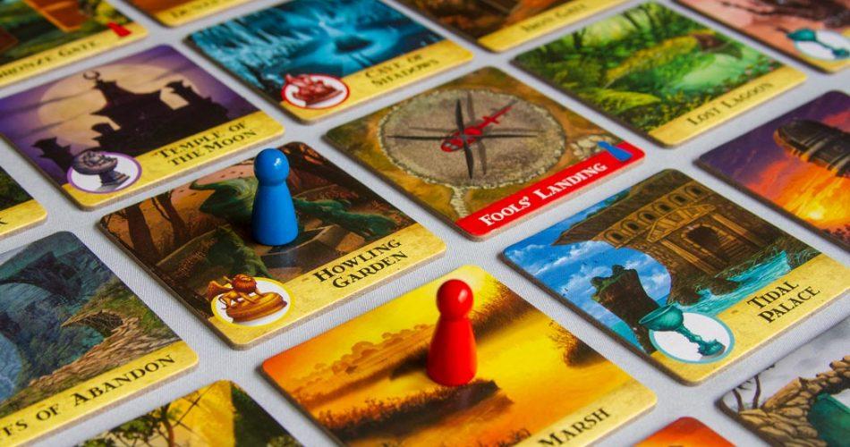 Forbidden Island Board Game Grid