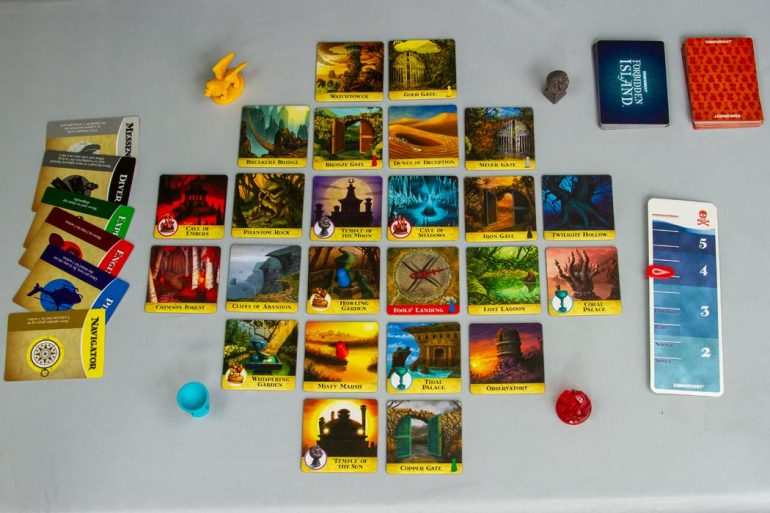 Forbidden Island Board Game Overview