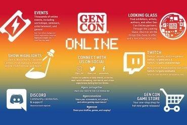 Gen Con Online 2020 Board Games