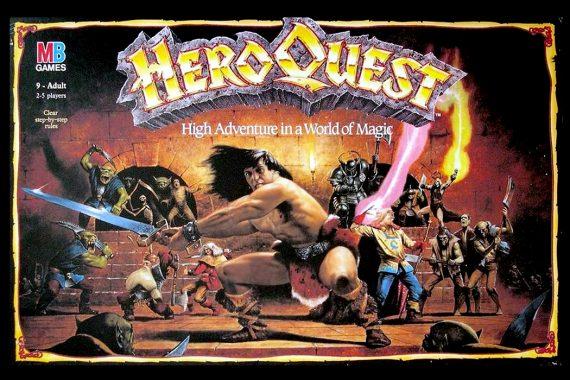 HeroQuest Board Game Box