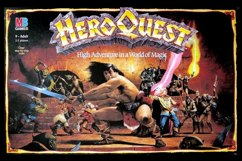 HeroQuest Board Game Box