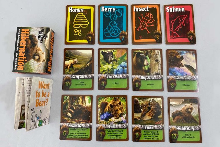 Hibernation Board Game