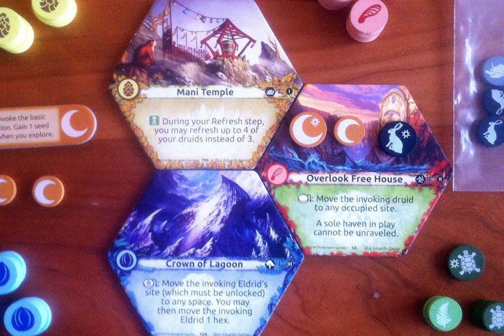 Lagoon Land of Druids Board Game