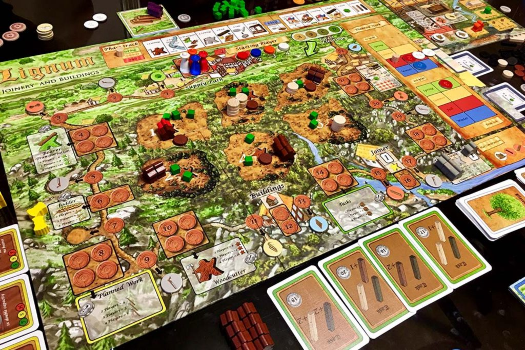 Lignum Board Game