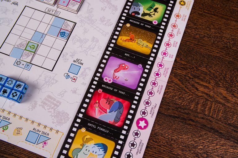 Roll Camera The Filmmaking Board Game Kickstarter