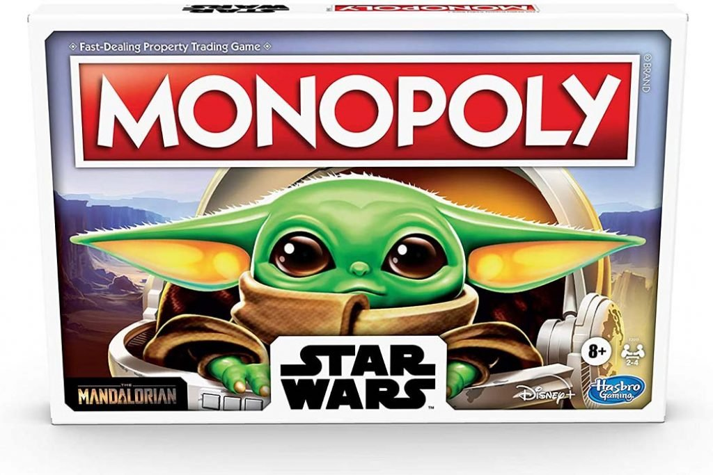 Star Wars Baby Yoda Monopoly Board Game