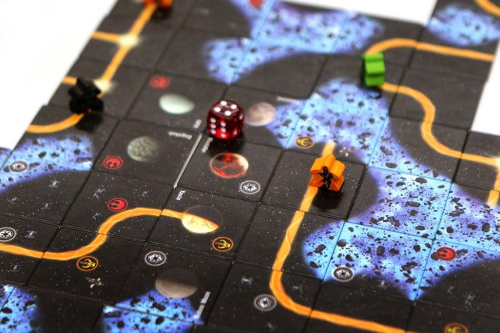 Star Wars Carcassonne Board Game