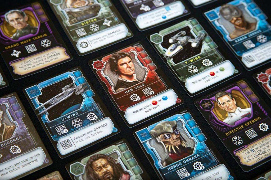 Star Wars Dark Side Rising Board Game