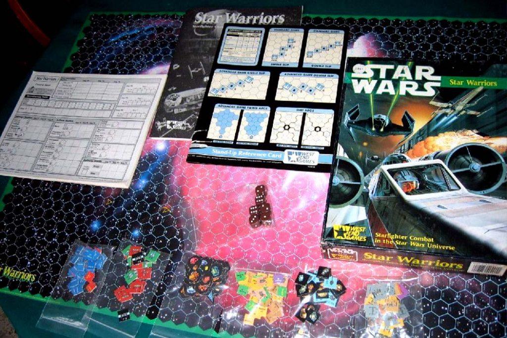 Star Wars Star Warriors Board Game