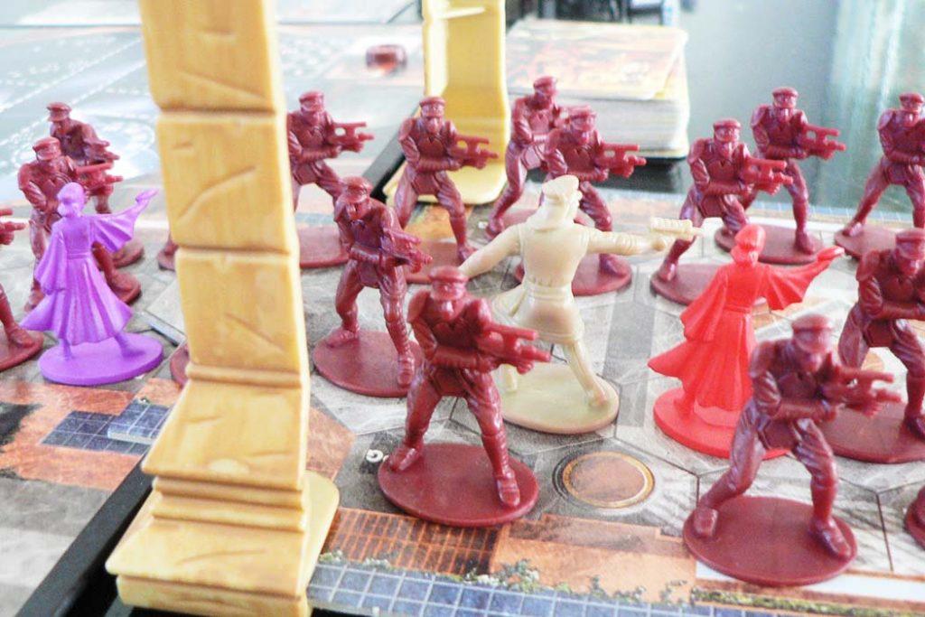 Star Wars The Queens Gambit Board Game