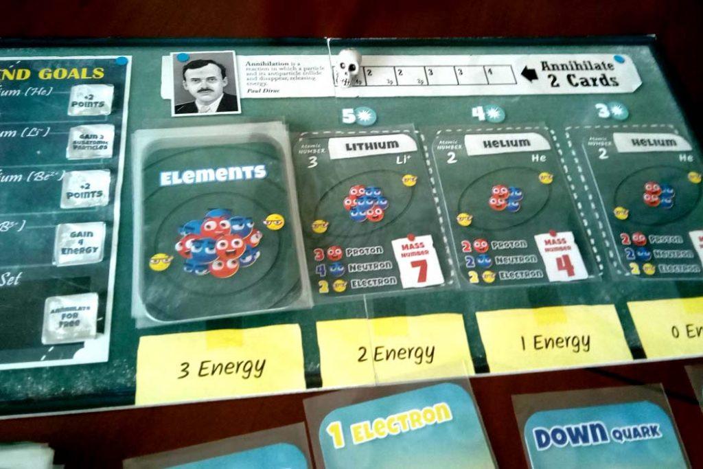Subatomic An Atom Building Game Board Game