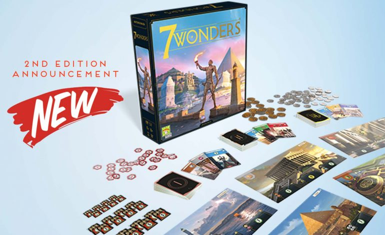 7 Wonders Game Changes Big in 2nd Edition