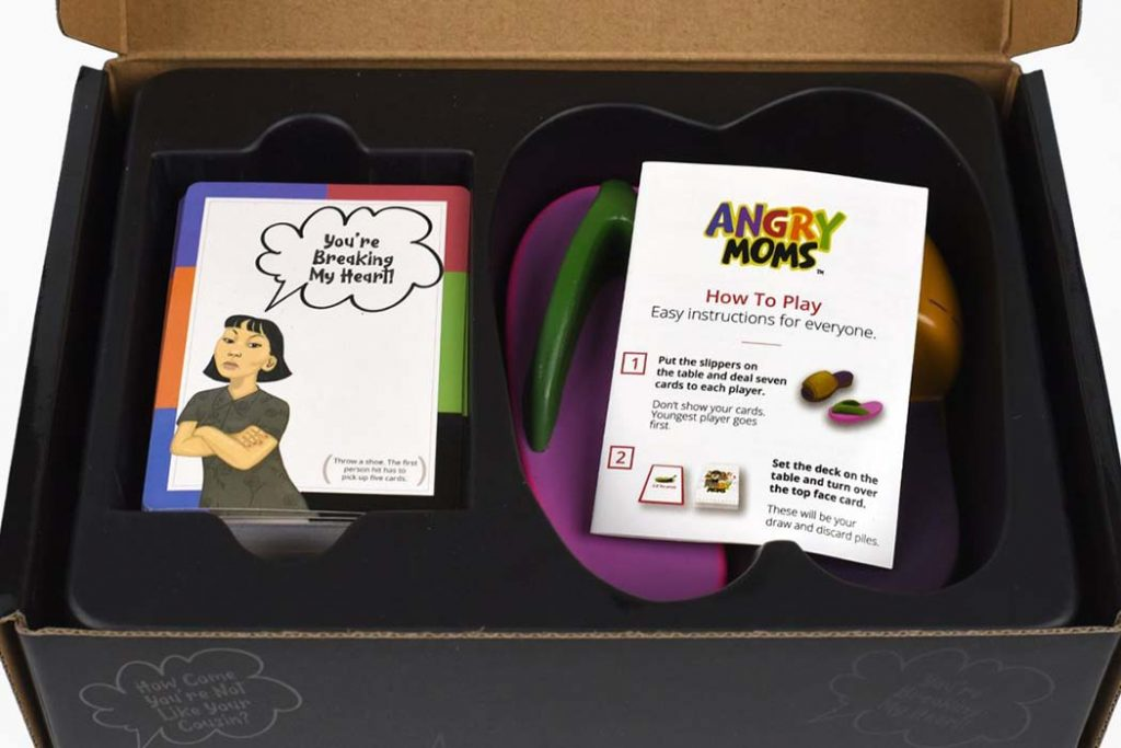 Angry Moms Board Game