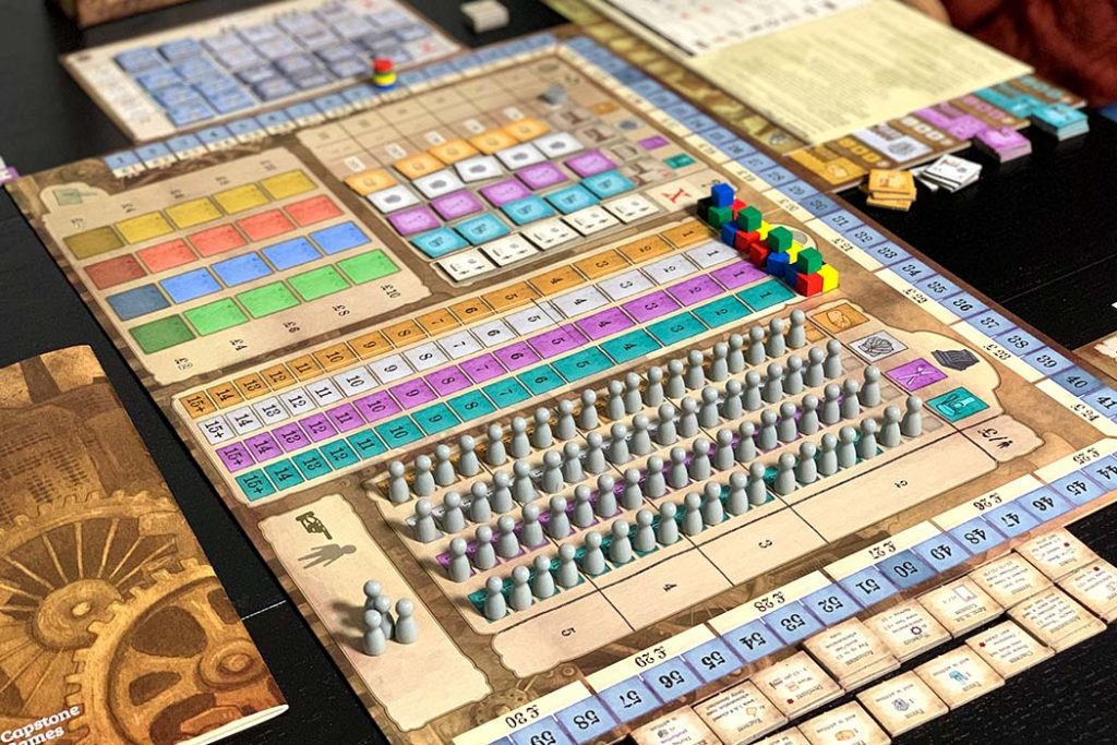 Arkwright Board Game