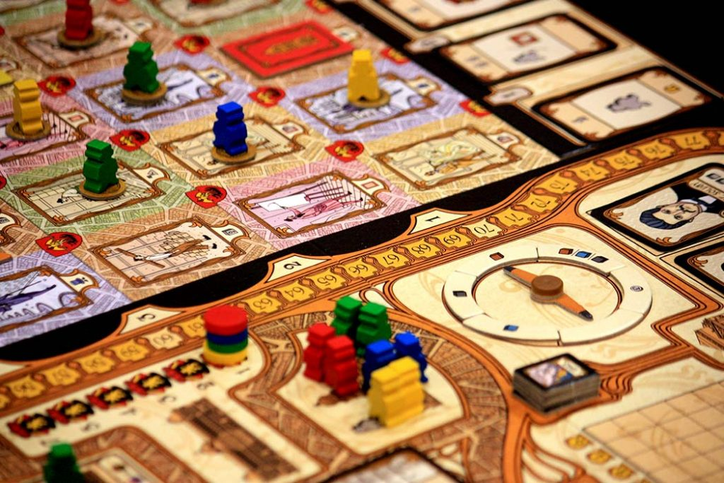 Bruxelles 1893 Board Game