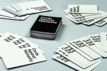 Cards Against Humanity Card Game Setup