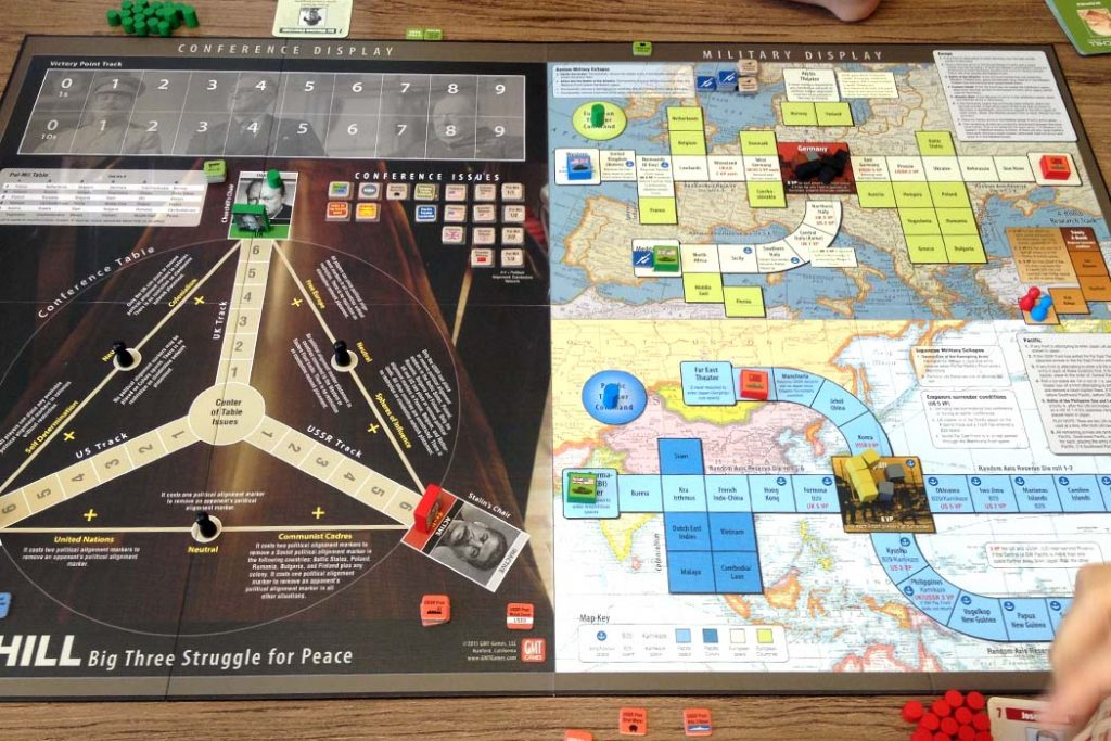 Churchill Board Game
