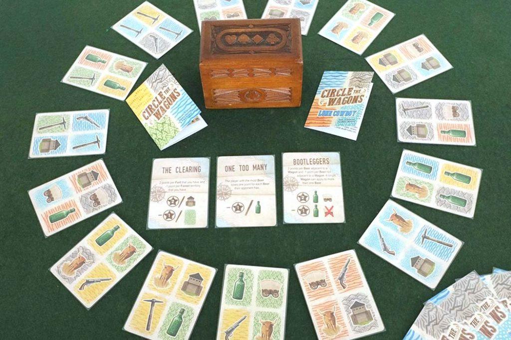 Circle The Wagons Board Game