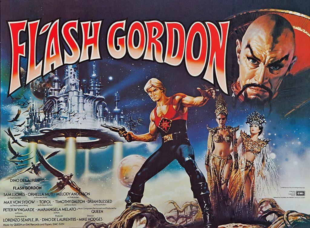 Flash Gordon 40th Anniversary Film Art