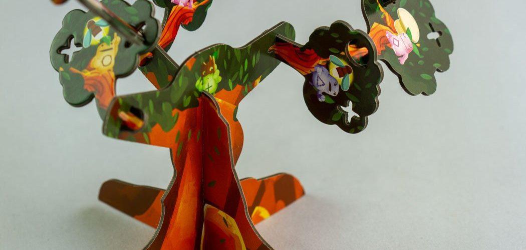 Kodama 3D Board Game Tree