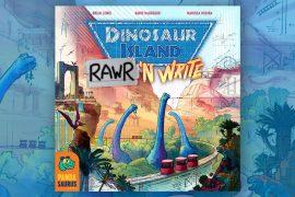 New game Dinosaur Island Rawr N' Write