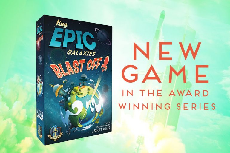 New Game Tiny Epic Galaxy Blast Off