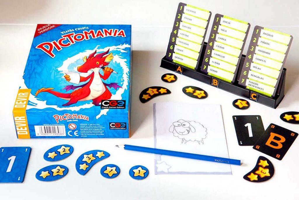 Pictomania Board Game
