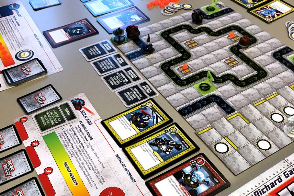 Robo Rally Board Game