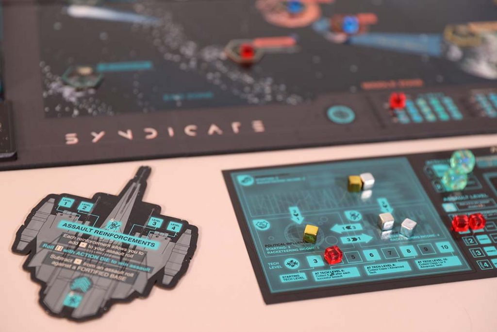 Syndicate Board Game