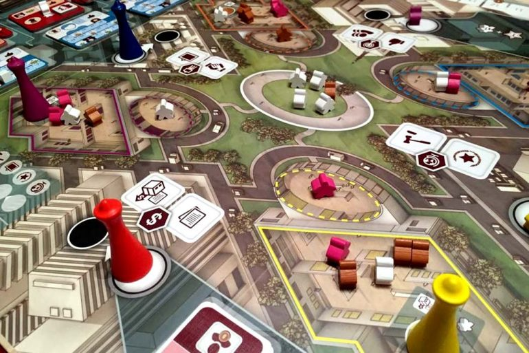 The Gallerist Board Game