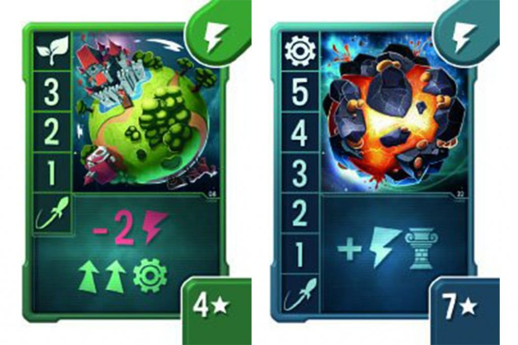 New Game Tiny Epic Galaxies Blast Off Cards