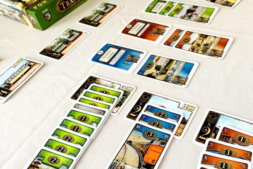 Trambahn Board Game