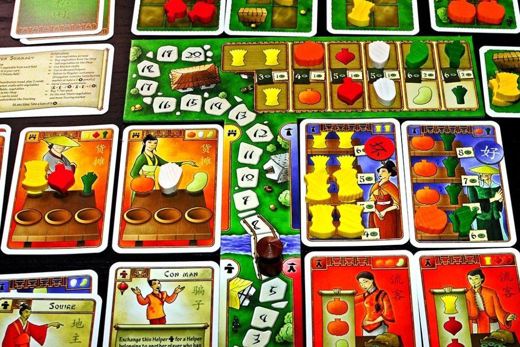 At the Gates of Loyang Board Game