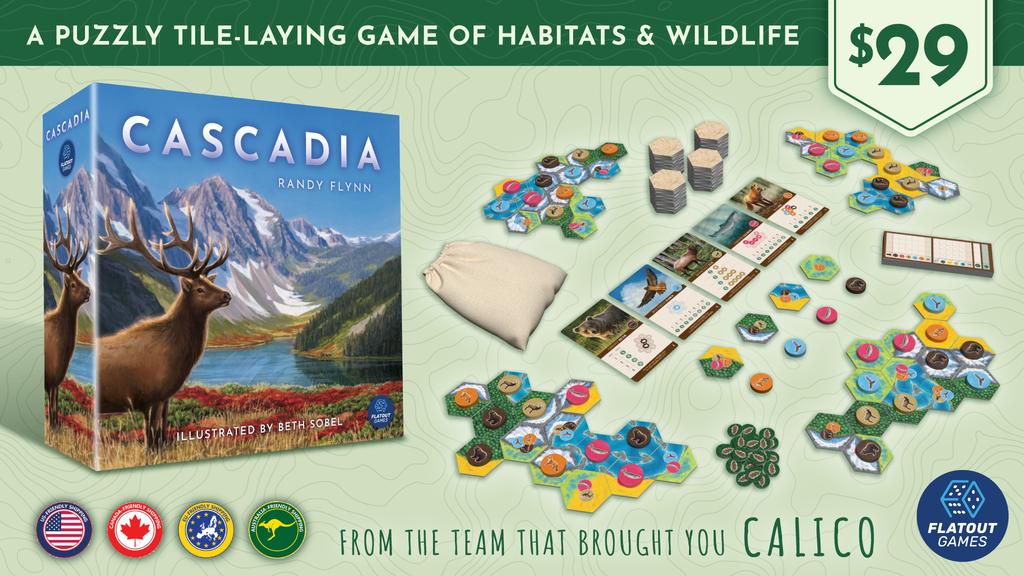 CASCADIA Kickstarter Package