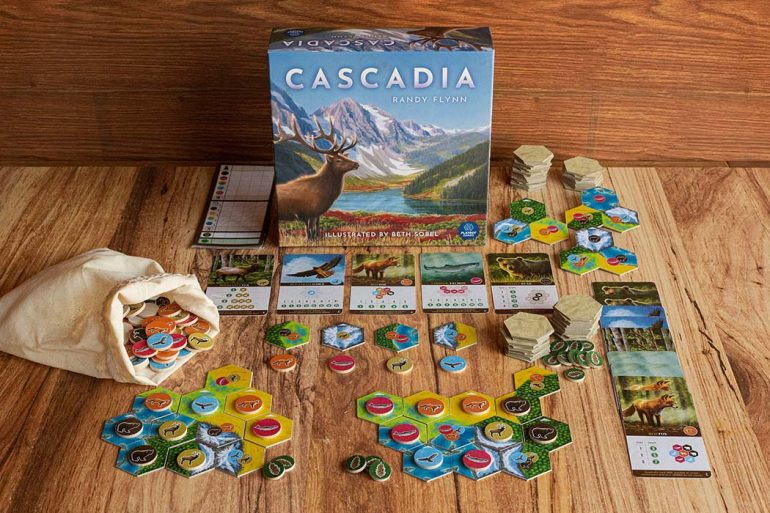 Cascadia Board Game Kickstarter