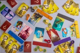 Detective Club Board Game Gameplay Overview