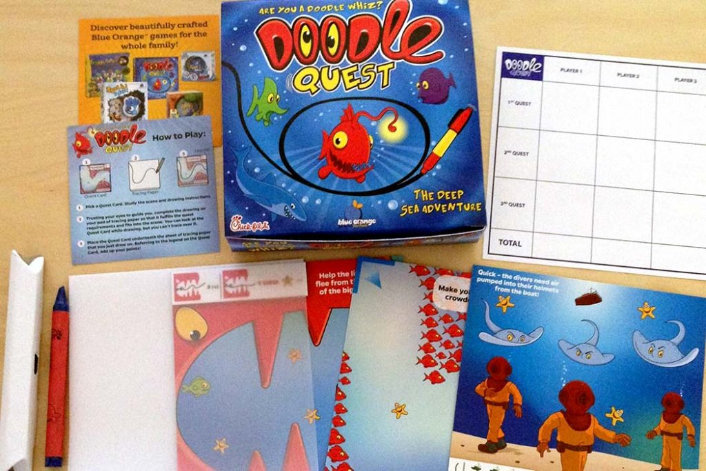 Doodle Quest Board Game