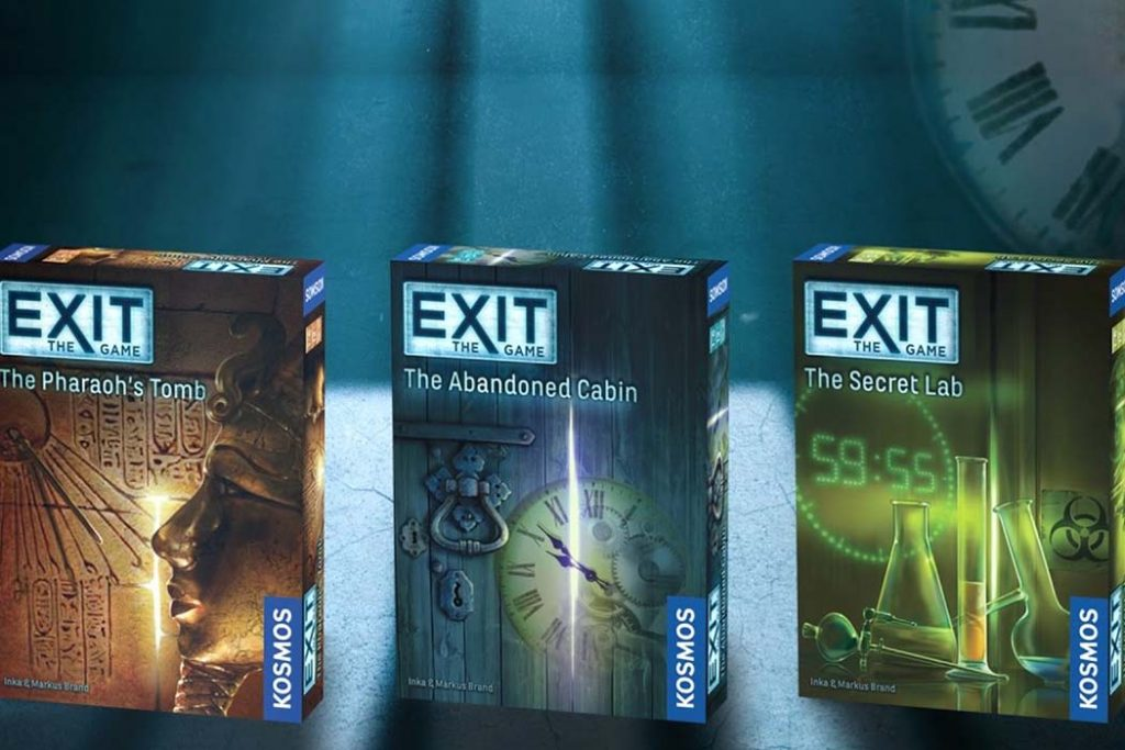 Exit Escape Room Board Games