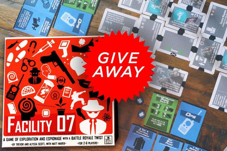 Facility 07 Kickstarter Giveaway