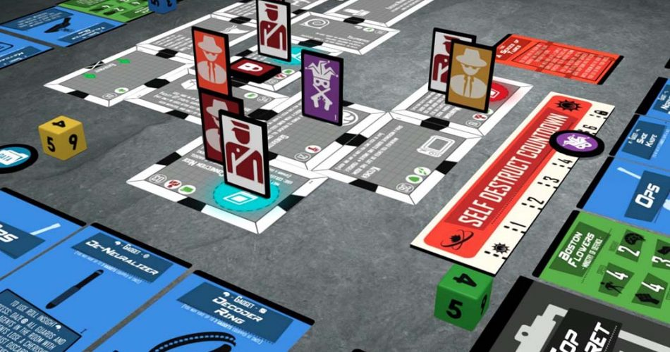 Facility 07 Board Game Gameplay