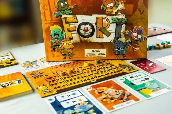 Fort Board Game Box Score