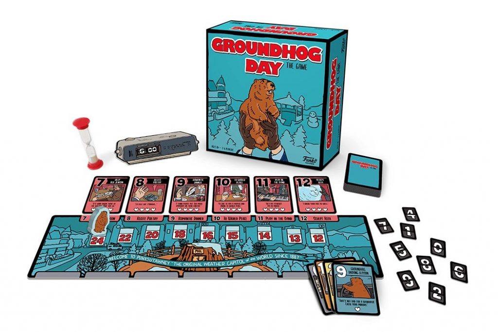 Groundhog Day Board Game Components