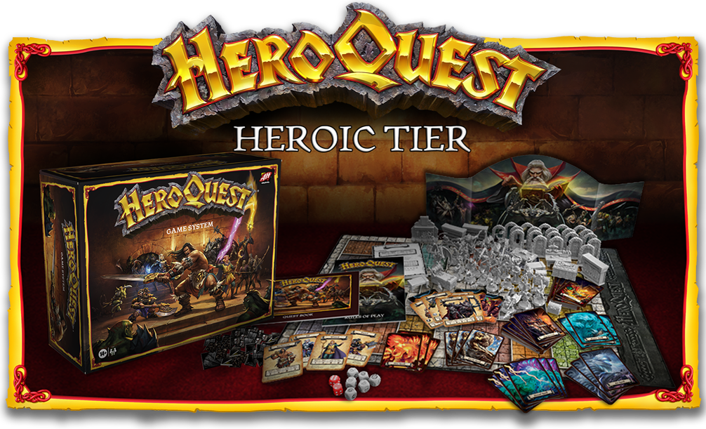 HeroQuest Crowfunding Heroic Tier