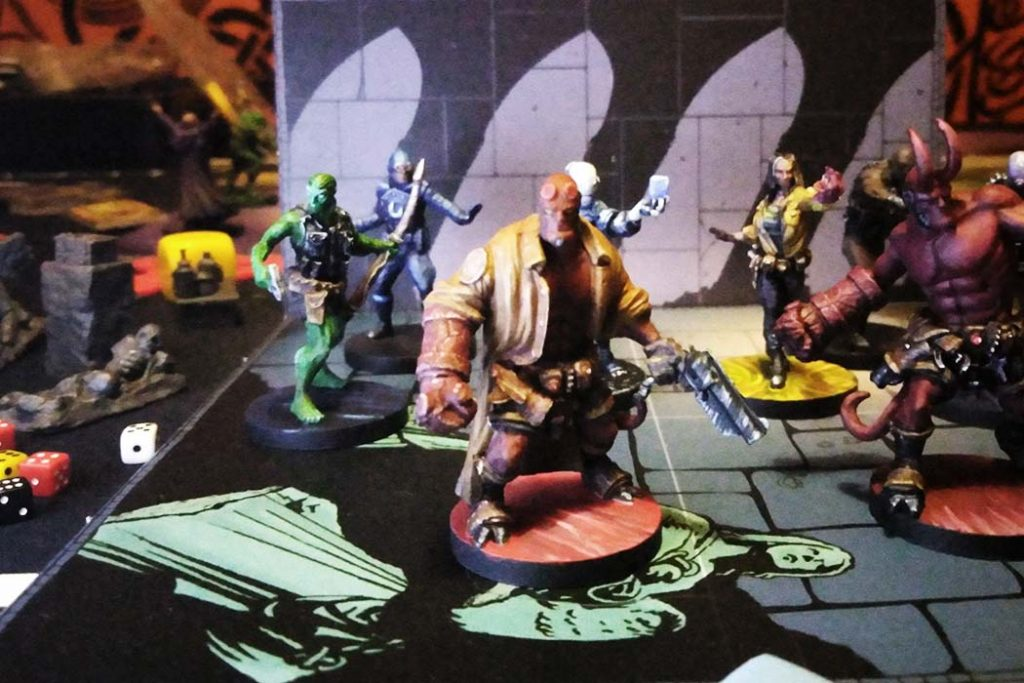 Hellboy Board Game Miniatures