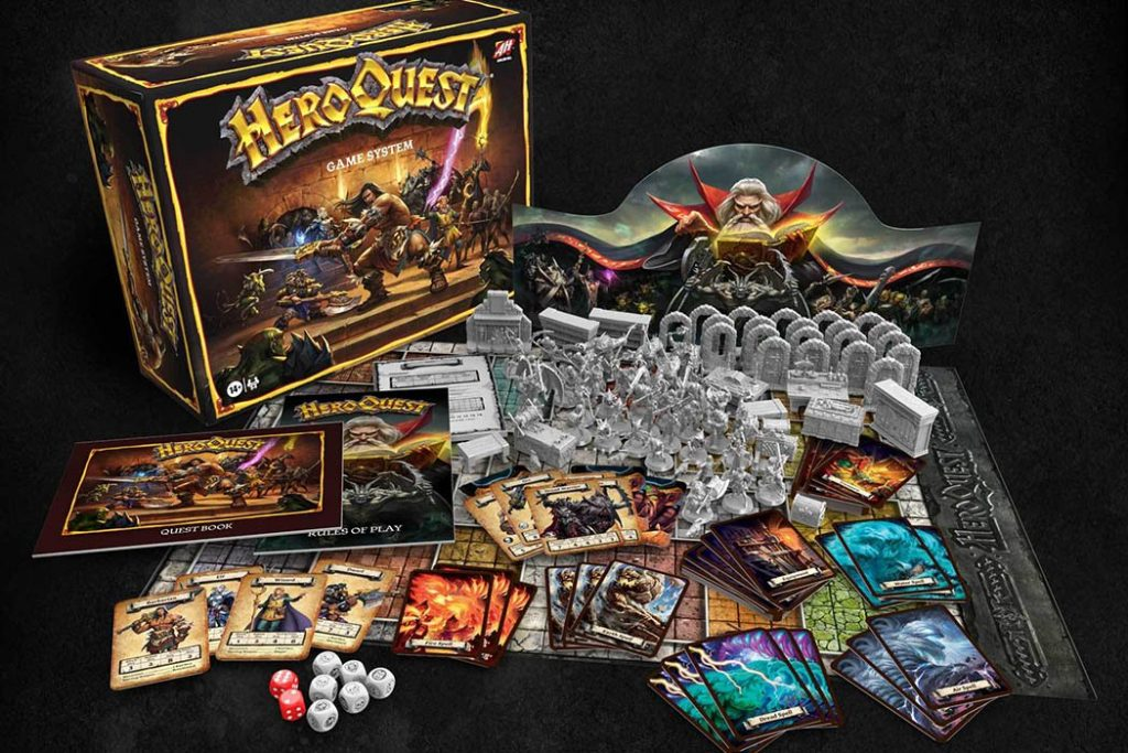 HeroQuest Game System 2020 New