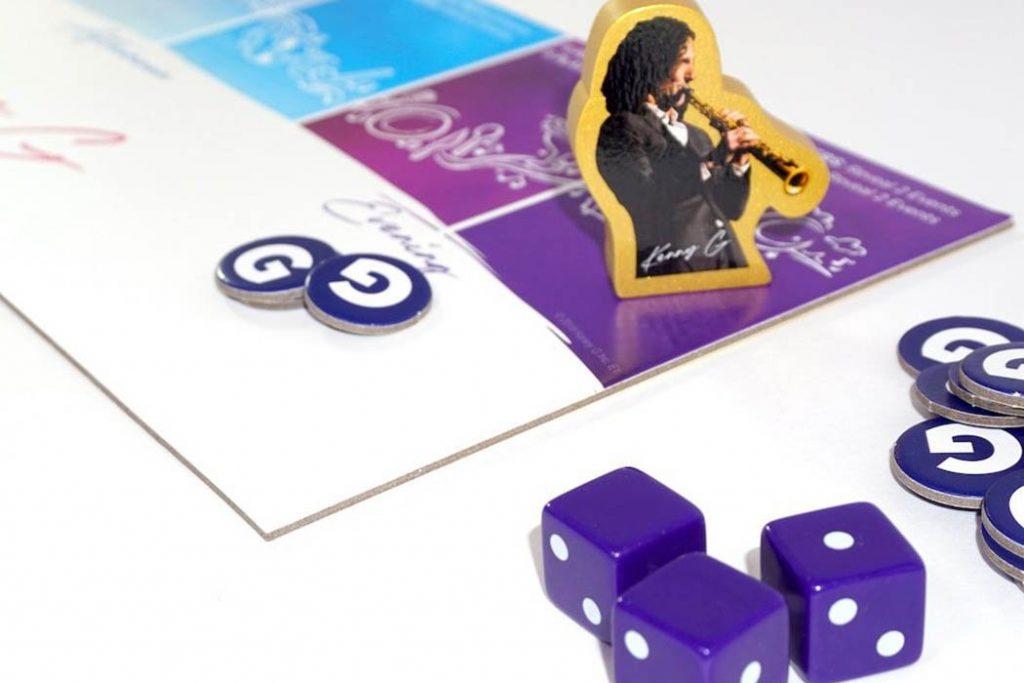 Kenny G Keepin It Saxy Board Game
