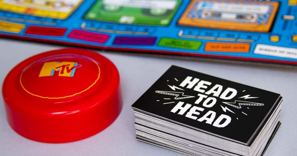 MTV Throwback Music Party Game Head To Head